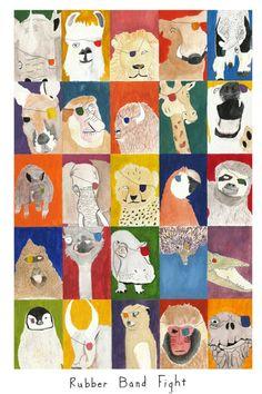 Stephan Van Wyk - London Zoo animals