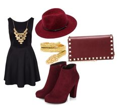 """Untitled #50"" by jadebrown1204 on Polyvore featuring Cartier, Charlotte Russe and Valentino"