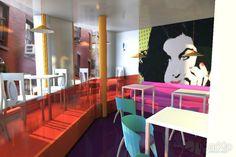 Проект интерьера кафе: архитектура, зd визуализация, 1 эт | 3м, эклектика, ресторан, кафе, бар, столовая, 200 - 300 м2, каркас - ж/б, здание, строение, интерьер #architecture #3dvisualization #1fl_3m #eclecticism #restaurant #cafe #bar #diningroom #200_300m2 #frame_ironconcrete #highrisebuilding #structure #interior