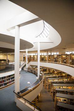 Alvar Aalto | Biblioteca de la Abadia Mount Angel | Oregon. Estados Unidos | 1970