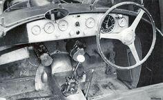 1947-Mille Miglia-Ferrari 125S Cockpit