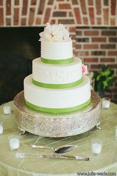 Tiger Lily Weddings - Peonies Cake