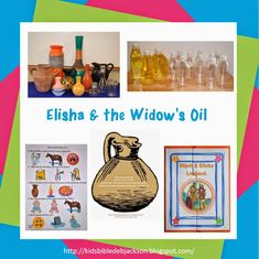 Elisha & the Widow's oil