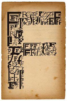 types of helvetica: F by thatjonjackson.com