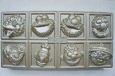 New Williams Sonoma Nordic Ware Cakelet Baking Cast Aluminum Sesame Marvel Hero | eBay