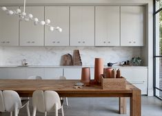 Kitchen   Rose Park Residence Kitchen by Williams Burton Leopardi   Est Living   Interiors, Architecture, Designers & Products 1800s Home, Natural Oak Flooring, Hecker Guthrie, Rammed Earth Homes, Mim Design, Art Deco Home, Australian Homes, Clever Design, House In The Woods