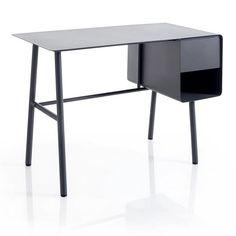 desk / Bureau Steel | via La Redoute