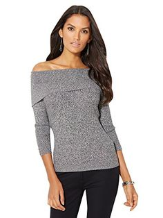 Convertible Cowl-Neck Sweater - New York & Company | Jeans and ...