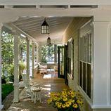 porch by bobbi. I want this porch! Outdoor Rooms, Outdoor Living, Outdoor Retreat, Outdoor Photos, Decks, Gazebo, Traditional Porch, Traditional Exterior, Side Porch