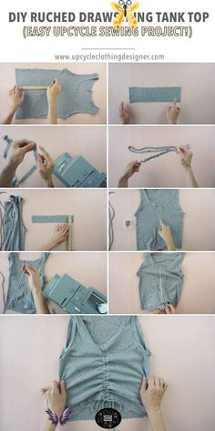 Fashion Sewing, Diy Fashion, Fashion Outfits, Diy Outfits, Tomboy Outfits, Diy Upcycled Art, Upcycled Furniture, Furniture Ideas, Diy Upcycled Shirts