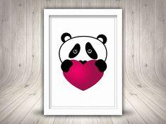 #PandaClipart, #CutePanda #Clipart Panda #PrintablePanda Cute Panda, Cute Illustration, Digital Prints, Snoopy, Clip Art, Printables, Illustrations, Handmade Gifts, Etsy