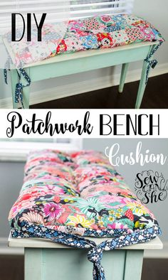 iDIY Bench Cushion to sew
