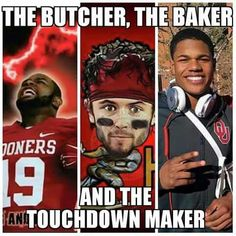 Boomer Sooner On! Ou Football Game, Oklahoma Sooners Football, Football Memes, Football Season, College Football, Ou Game, Football Baby, Ou Sports, Sports Fanatics