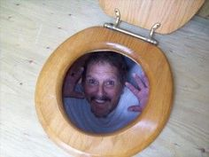 April fools - Toilet Bowl Prank