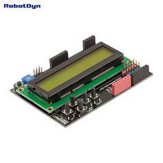 LCD keypad Shield, 1602 display, for Arduino LCD Shield GREEN SCREEN