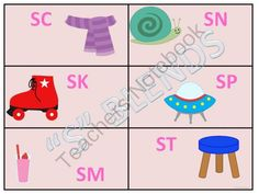 S Blends Sort and Match Game from Donna-Thompson on TeachersNotebook.com -  (17 pages)  - This product is on learning �S� BLENDS. There are six cards for each �SC,� �SK,� �SM,� �SN,��SP,�  �ST,� AND �SW� BLENDS.