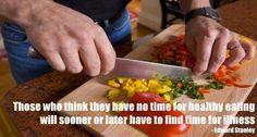 It's more HEALTHIER to cook at home than to eat out.