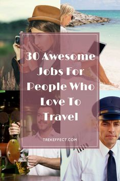 Don't wait until you're retired to travel the world! Look into one of these awesome travel jobs that will feed your wanderlust while you work and earn money. Travel Careers, Travel Jobs, Travel Hacks, Travel The World For Free, Free Travel, Travel Couple, Family Travel, Family Camping, Work Abroad