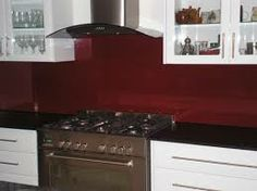 ruby red...colourful splashbacks - Google Search