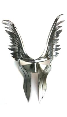 Wings Mask - #halloween #costume #ideas | http://www.etsy.com/listing/97498947/saturn-leather-mask?ref=shop_home_active
