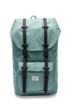 Herschel Supply Co. Little American Backpack in Seafoam & Black