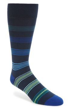 Paul Smith Tonal Ladder Stripe Socks available at #Nordstrom