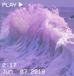 M O O N V E I N S 1 0 1 #vhs #aesthetic #sea #ocean #wave #purple #white #pastel Purple Aesthetic, Shades Of Purple, 50 Shades, Pastel Grunge, All Things Purple, Keep Calm And Love, Alchemy, Awakening, Ayurveda