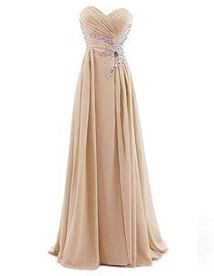 Dresstells® Sweetheart Beading Floor-length Chiffon Prom Dress Long Evening Gown Size 18W Champagne Dresstells http://www.amazon.com/dp/B00KIH3N4U/ref=cm_sw_r_pi_dp_WQ3rvb0WYDY8F