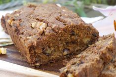 Pumpkin And Pecan Bread - Rosanna Davison Nutrition Zucchini Banana Bread, Vegan Zucchini, Healthy Meals To Cook, Healthy Food, Anna Banana, Perfect Food, Healthy Smoothies, Pumpkin