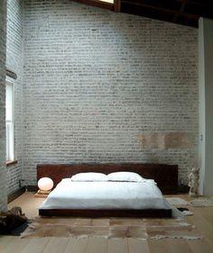 Fancy - Wood Slab Bed