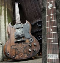 Hutchinson Guitar (Concepts based on the Norse God Odin)