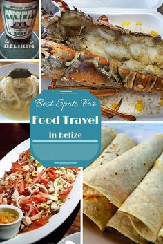 Considering a trip to #Belize? Here's the low down on some of the best spots in the country for #food #travel.