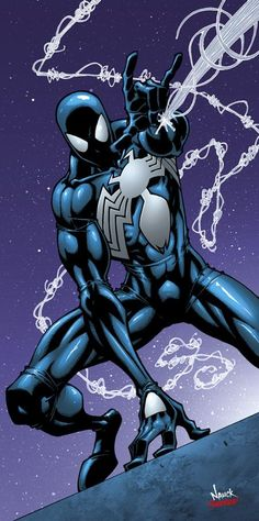 Spider-Man (black costume) by Todd Nauck ®... #{TRL}