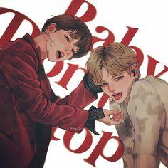 Nct U Baby don't stop Kpop Drawings, Cute Drawings, Bts Art, Drawn Art, Microsoft Excel, Nct Ten, Nct Taeyong, Kpop Fanart, Jaehyun