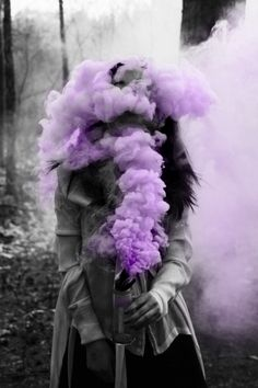 The smoke exploded from the vial, blossoming up to cover her face, to change her face. She became something else.