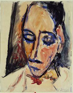 1906-Cabeza de mujer