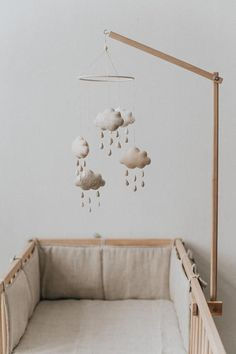 Nursery Mobile Bebe / Crib Mobile Baby / Baby Shower Gift / Baby Mobile / Mobile for Cribs / Nursery Decor / Cot Mobile / Crib Mobile / Baby room