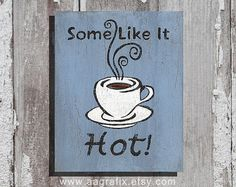 Kitchen Sign Coffee Modern Rustic Home Decor by AAgrafix on Etsy, $20.00