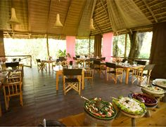 You'll find us at Shanga's River House. Absolutely beautiful place