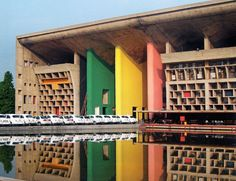 aqqindex:  Le Corbusier, High Court, Chandigarh