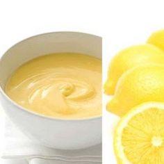 Crema al limone senza uova e latte
