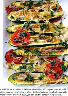 Must try this! grilled zuccini