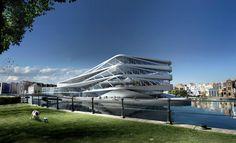 Un projet architectural de près de 20.000 m2 situé dans la ville de Gent en Belgique. Ce projet est porté par le cabinet d'architecture UNStudio et les images créés par les spécialistes de l&…
