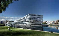 Urban Library of the Future / UNStudio