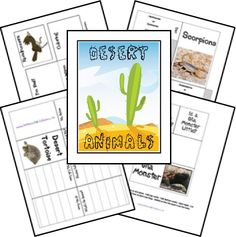 Free Desert Animals Unit Study & Lapbook from freehomeschooldeals.com