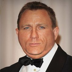 Fat Celebrities / Daniel Craig