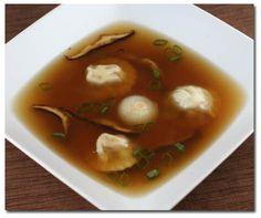 Consomé de Pato, Receta de sopa o base de salsa de Linda Brockmann.