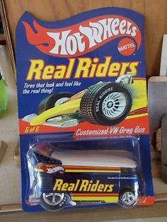 Hot Wheels CUSTOMIZED VW DRAG BUS  REAL RIDERS  SERIES 3 #6 of 6
