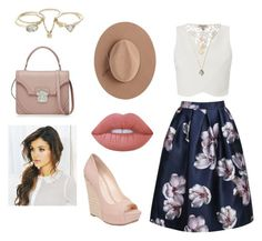 """Untitled #23"" by mystylesochic on Polyvore featuring Lipsy, Jessica Simpson, Satya Twena, Lime Crime and Alexander McQueen"
