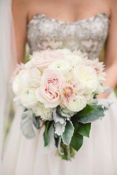 Soft Wedding Bouquet ~  Lauren Gabrielle Photography,  Greenhouse Florist
